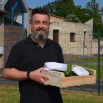 Olivier, responsable de la cuisine centrale de Saint Astier